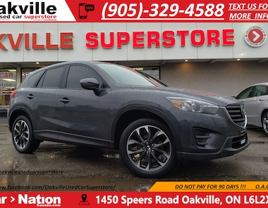 2016 Mazda CX-5 GT | LEATHER | NAV | B/U CAM | BLUETOOTH SUV