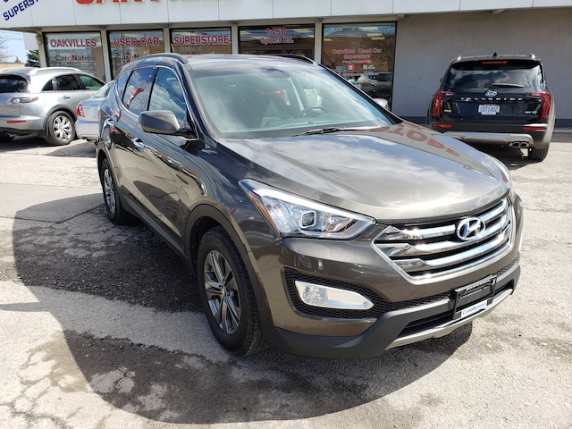 Used Brown 2014 Hyundai Santa Fe Sport For Sale   Oakville