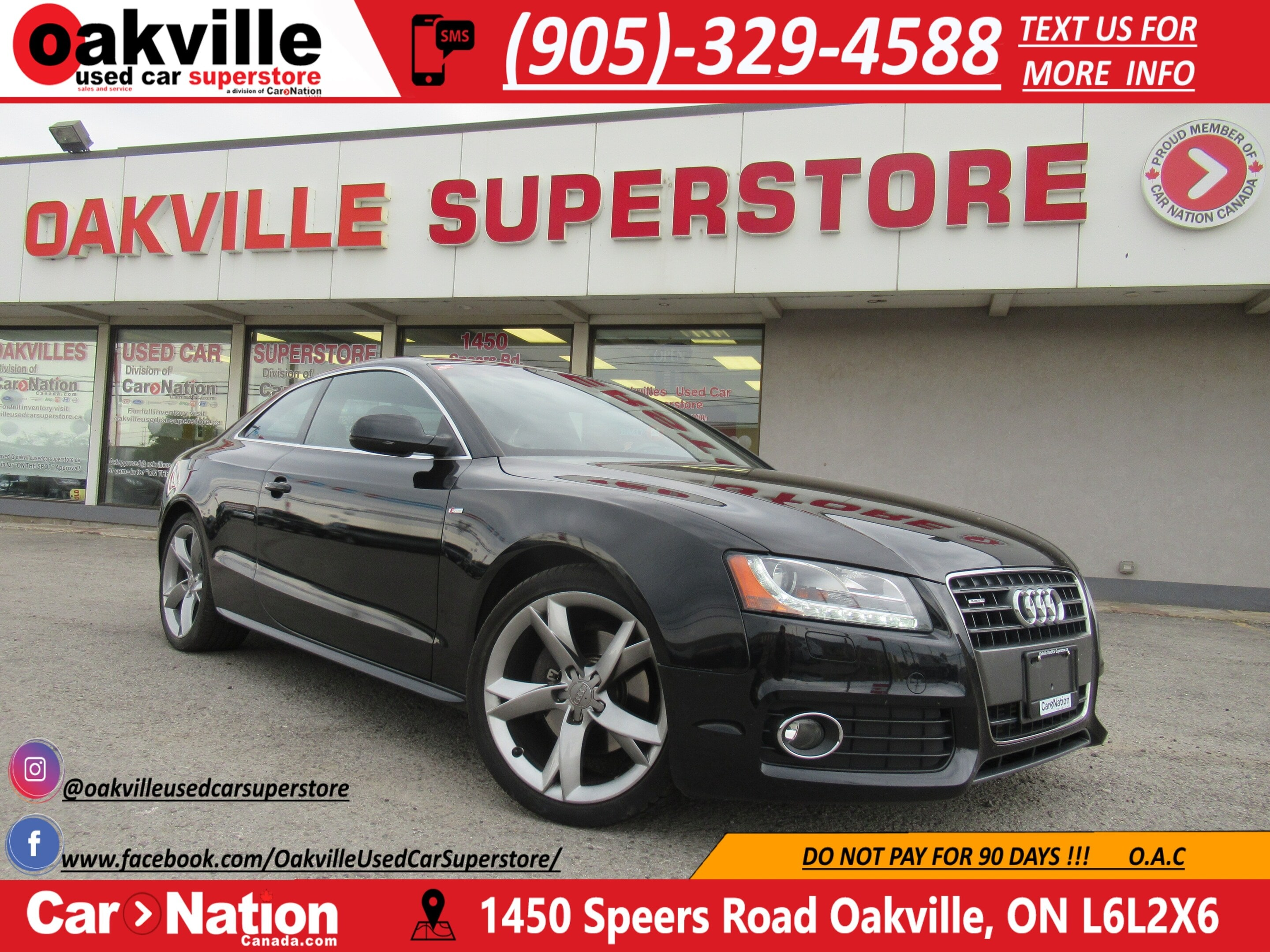 2012 Audi A5 2.0T QUATTRO | S-LINE | PANO ROOF | HEATED SEATS Coupe