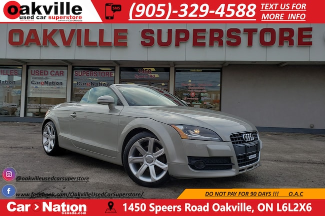 2008 Audi TT 2.0T PREMIUM ROADSTER | NAVIGATION | BLUETOOTH  Convertible DYNAMIC_PREF_LABEL_AUTO_CERTIFIED_USED_DETAILS_INVENTORY_DETAIL1_ALTATTRIBUTEAFTER