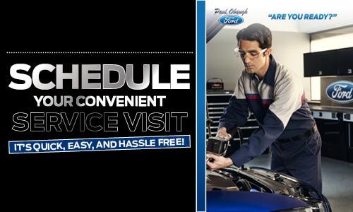 Schedule Your Convenient Service Visit