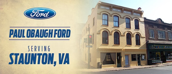 why buy from paul obaugh ford in staunton va paul obaugh ford paul obaugh ford in staunton va
