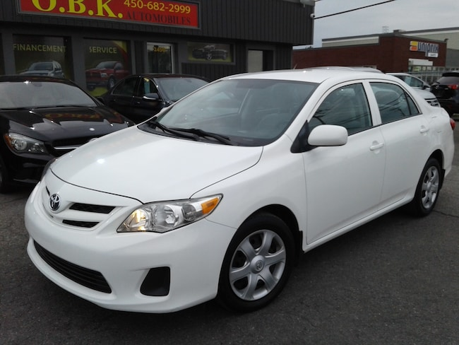 2011 Toyota Corolla CE-AIR CLIMATISE-AUTOMATIQUE Berline