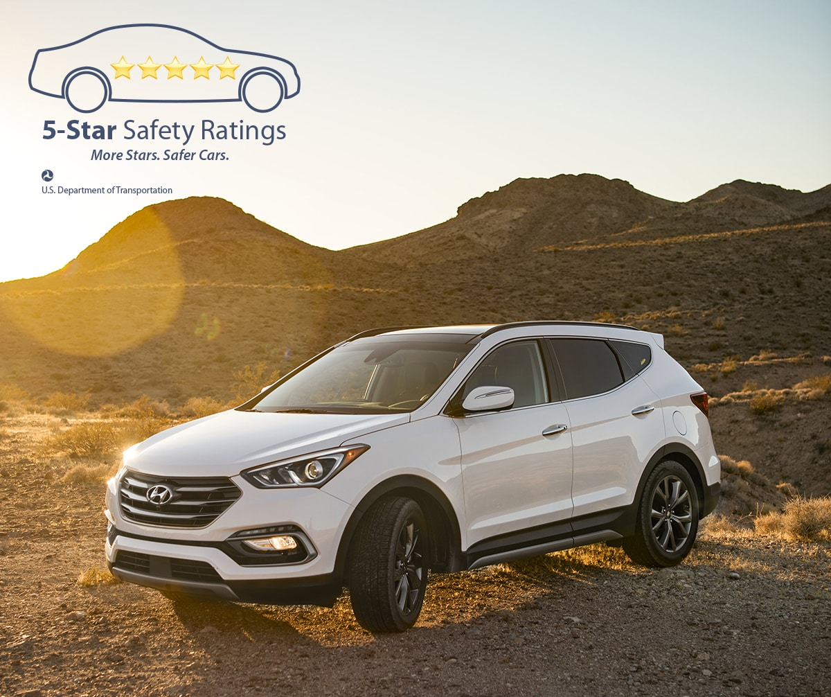 2017 and 2018 Hyundai Santa Fe and Santa Fe Sport in McKinney, TX | Complimentary Maintenance Package