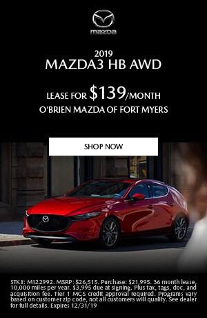 2019 Mazda3 Lease