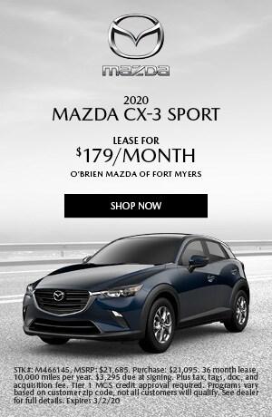 2020 Mazda CX-3 Lease
