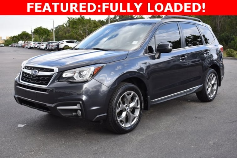Certified Used 2017 Subaru Forester 2.5i Touring SUV near Naples