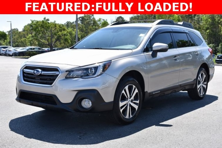 Used 2018 Subaru Outback 3.6R SUV near Naples