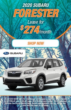 2020 Forester Lease