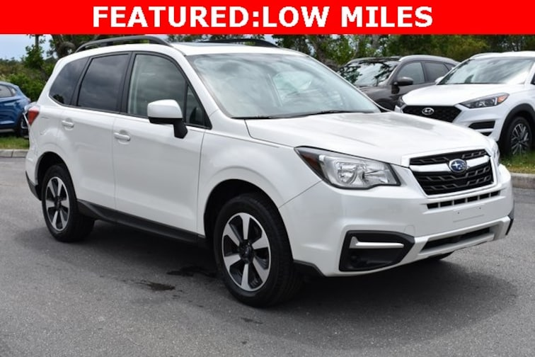 Certified Used 2017 Subaru Forester 2.5i Premium SUV near Naples