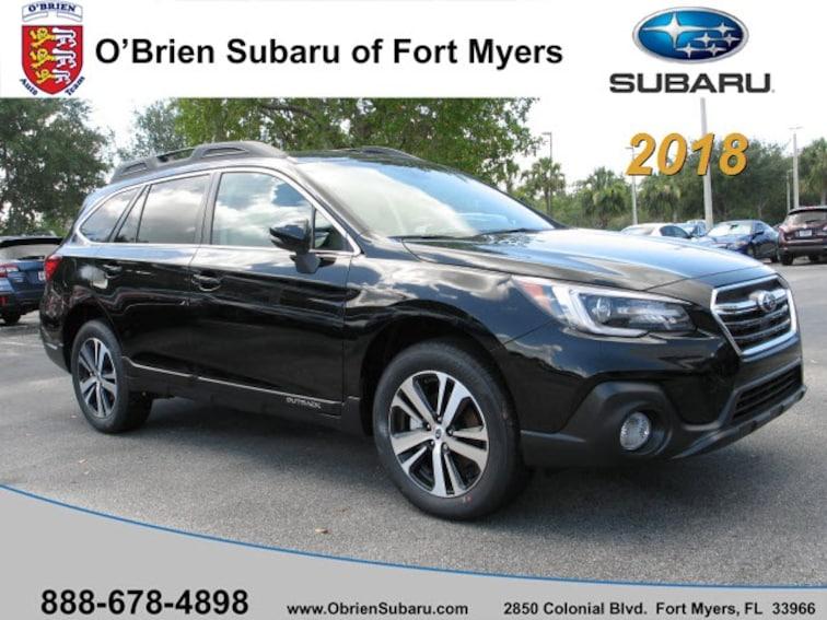 New 2018 Subaru Outback 2.5i Limited with EyeSight, Navigation, High Beam  SUV S341125 near Naples