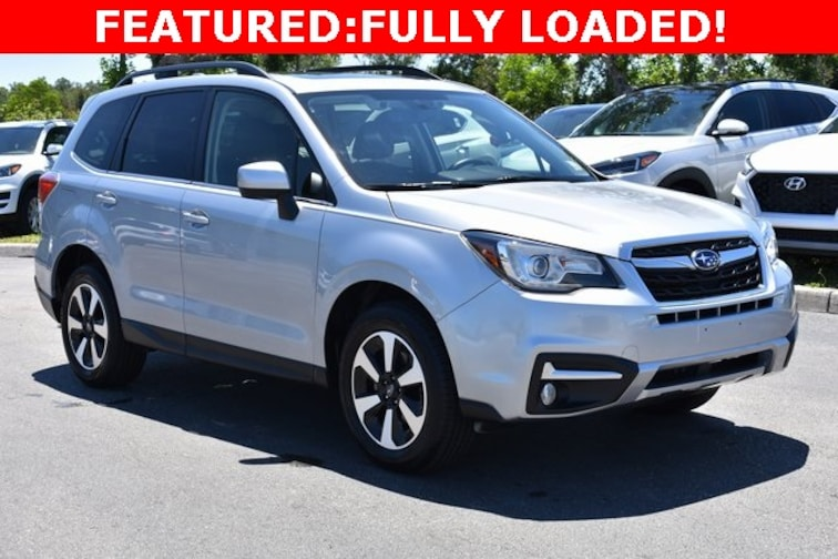 Certified Used 2017 Subaru Forester 2.5i Limited SUV near Naples