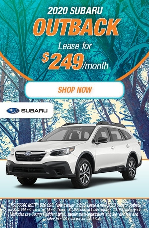 2020 Outback Lease