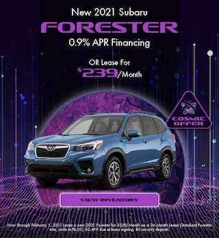 January - 2021 Forester