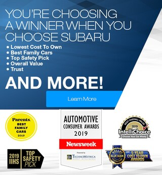 Subaru Awards & Accolades