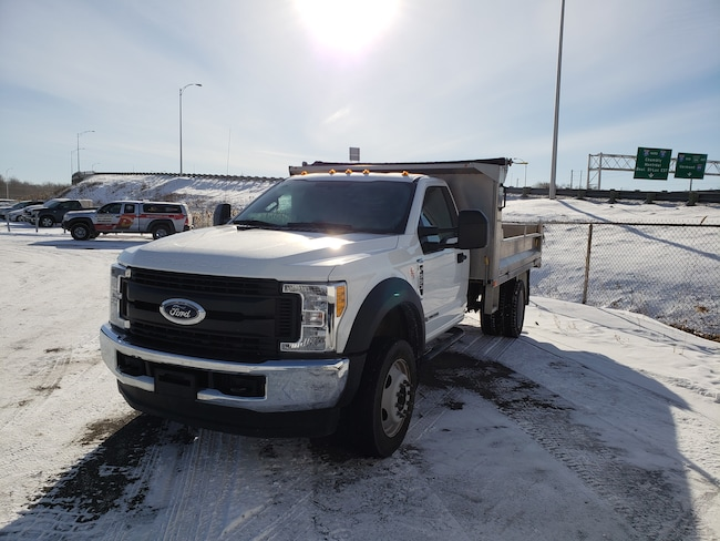 2017 Ford F-550 XL DOMPEUR TWIN DUMP TRUCK Véhicule Commercial