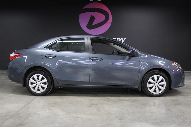 2015 Toyota Corolla LE avec 1 propriétaire ! Sedan