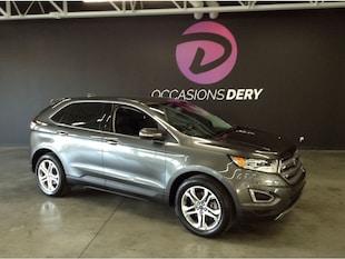 2016 Ford Edge Titanium AWD navigation cuir et plus ! VUS