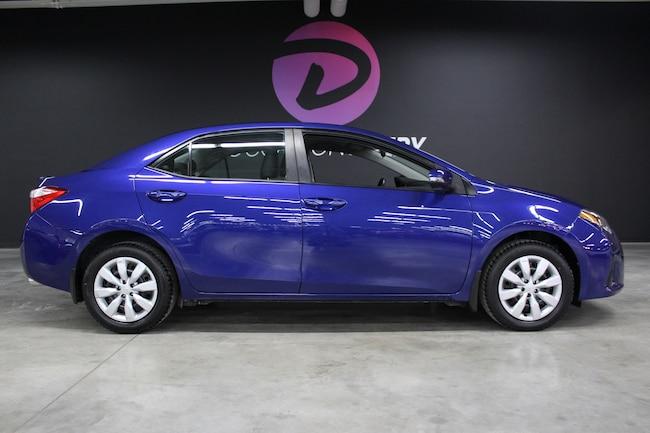 2016 Toyota Corolla S avec 1 propriétaire dossier complet entretiens! Berline