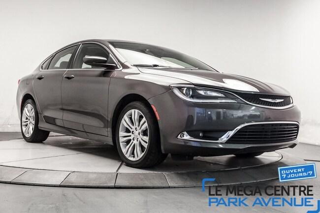 2015 Chrysler 200 Limited, SIEGES CHAUFFANTS, CAMERA Berline