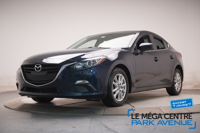2016 Mazda Mazda3 GS - MAGS, TOIT OUVRANT, B.CHAUF, BTOOTH Berline