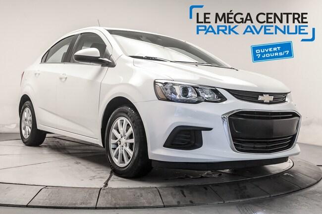2017 Chevrolet Sonic LT ** RESERVE** MAGS, BTH, CAMERA      , B.CHAUF Berline
