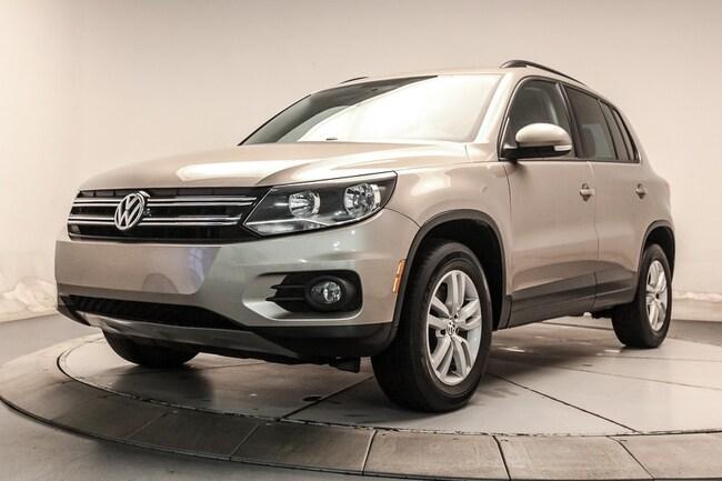 2015 Volkswagen Tiguan TRENDLINE 4MOTION BLUETOOTH,  B.CHAUFF VUS