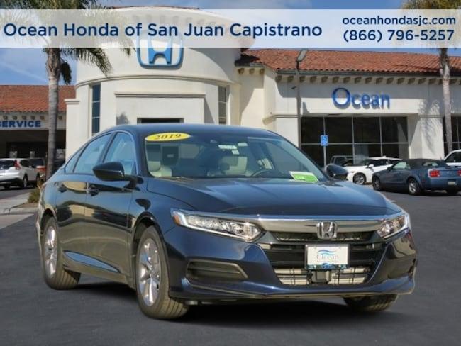 New 2019 Honda Accord LX Sedan 1HGCV1F16KA021258 for sale near Orange County (OC) CA