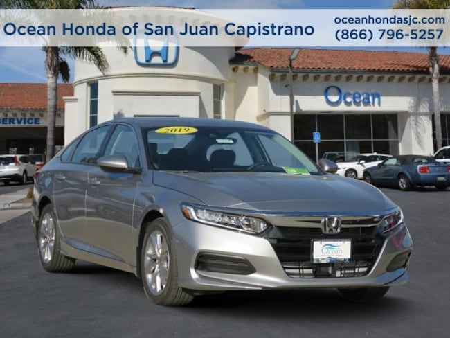 New 2019 Honda Accord LX Sedan 1HGCV1F13KA024425 for sale near Orange County (OC) CA