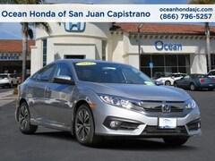 2018 Honda Civic EX-L Sedan