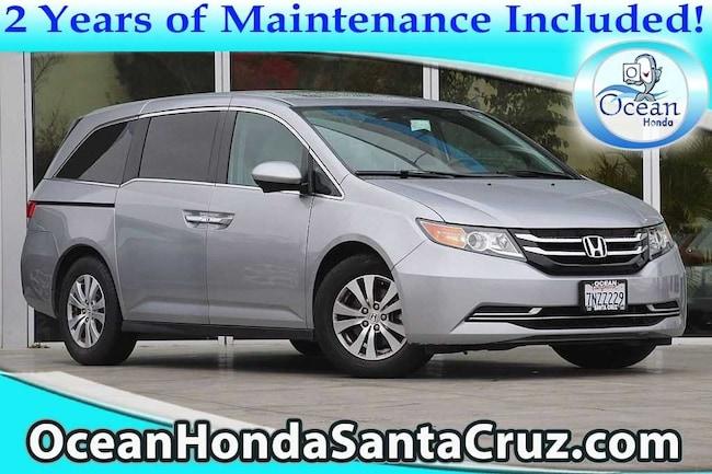 Certified Pre-Owned 2016 Honda Odyssey EX-L Van Passenger Van 5FNRL5H64GB023734 for sale near Monterey CA
