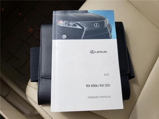lexus rx 350 owners manual 2013