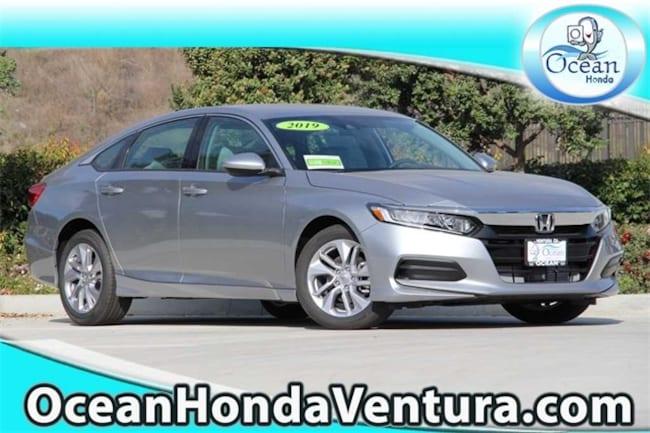 New 2019 Honda Accord LX Sedan 1HGCV1F15KA026502 for sale near Oxnard CA