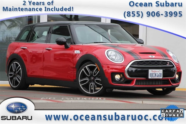 Used 2018 Mini Clubman For Sale At Ocean Subaru Of Fullerton Vin