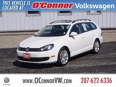2014 Volkswagen Jetta SportWagen 2.0L TDI w/Sunroof Wagon For Sale in Augusta, ME