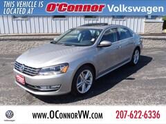 2012 Volkswagen Passat 2.0L TDI SEL Premium Sedan For Sale in Augusta, ME