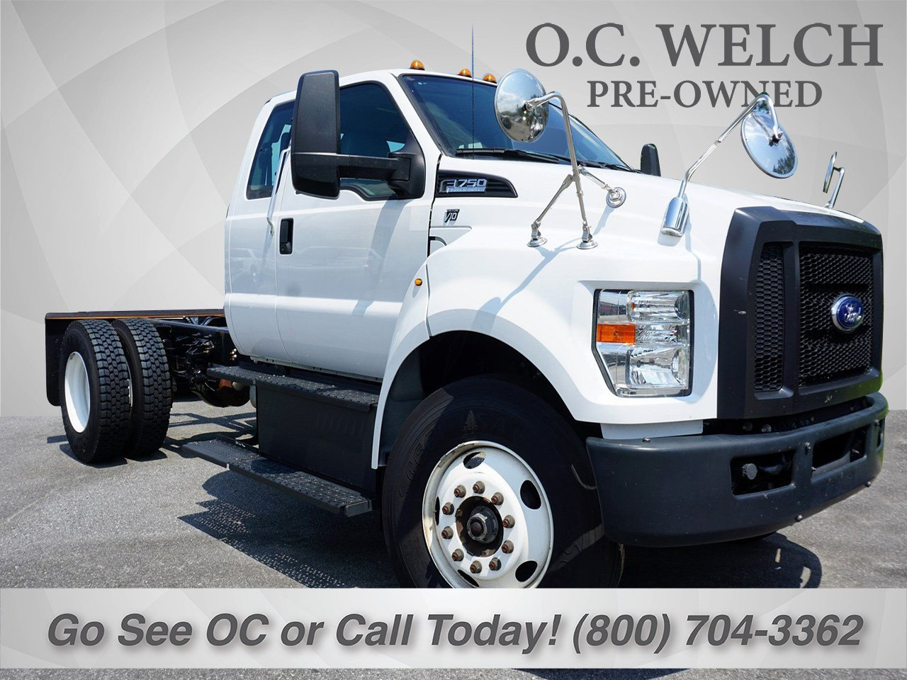 2016 Ford F-750 Chassis Cab