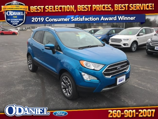 2019 Ford EcoSport Titanium SUV for sale in New Haven, IN