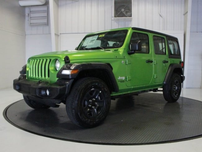 new 2018 jeep wrangler unlimited sport 4x4 for sale in fort wayne in near new haven columbia. Black Bedroom Furniture Sets. Home Design Ideas