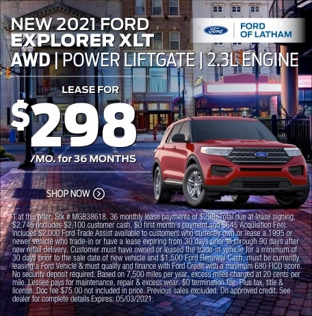 2021 Ford Explorer Lease Special