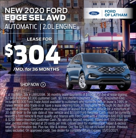 2021 Ford Edge Lease Special