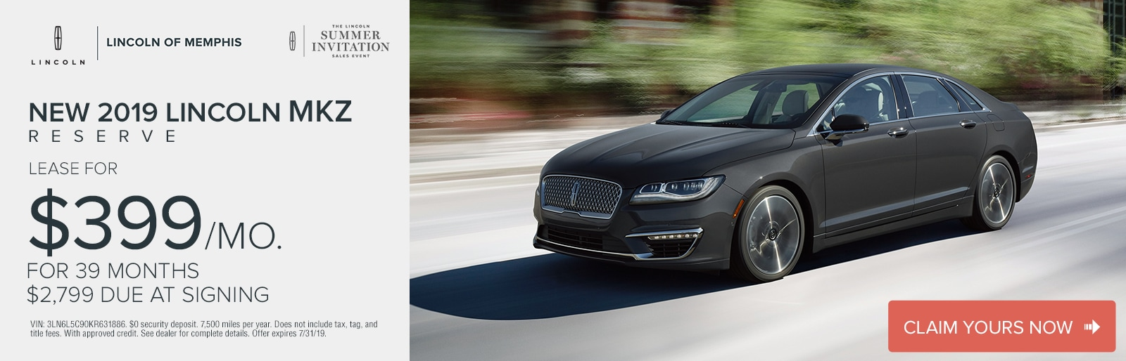 Car Dealerships In Memphis >> New Used Lincoln Vehicles Lincoln Dealer Serving Memphis Tn