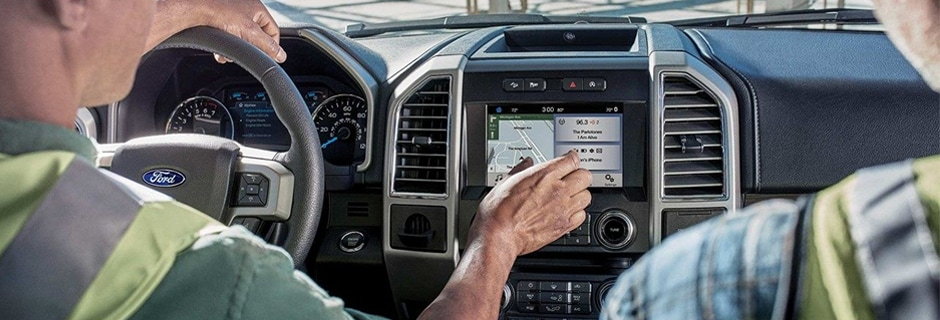 Ford F-150 Interior Vehicle Features
