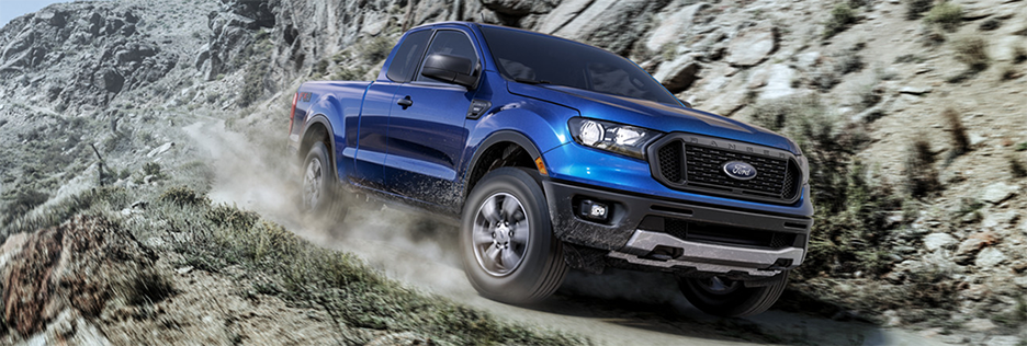 Ford Ranger Exterior Vehicle Features