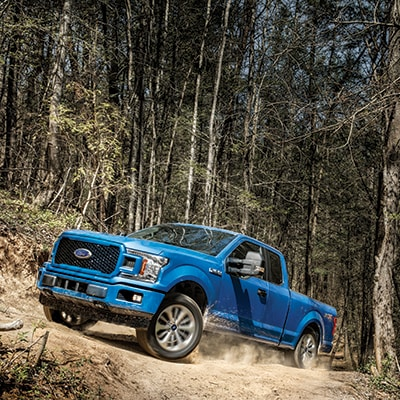 Ford F-150 Terrain Management System