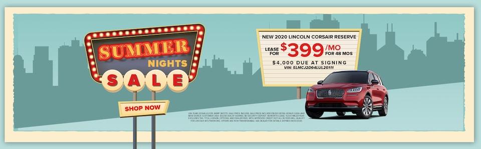 New 2020 Lincoln Corsair Reserve