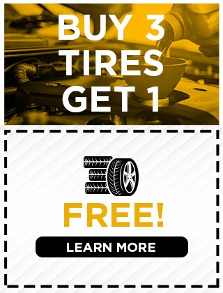 Buy 3 Tires Get 1 for FREE!