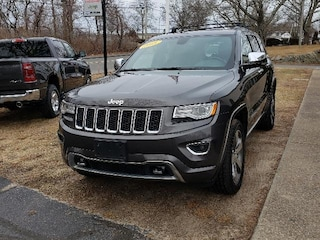 Certified Pre-Owned 2015 Jeep Grand Cherokee Overland 4x4 SUV for sale in Falmouth, Cape Cod, MA