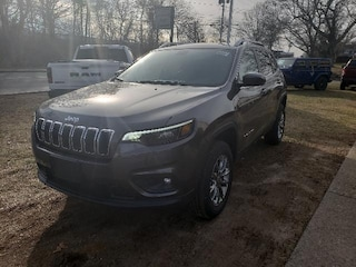 New 2019 Jeep Cherokee LATITUDE PLUS 4X4 Sport Utility 1C4PJMLX8KD356087 for sale in Falmouth, Cape Cod, MA