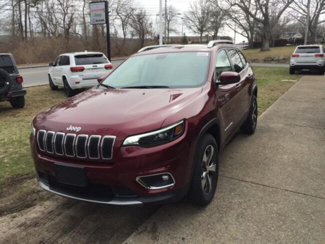 New 2019 Jeep Cherokee LIMITED 4X4 Sport Utility in Falmouth, MA